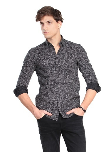Kip Gömlek Siyah